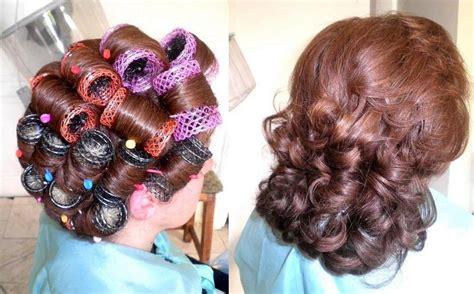 his hair in rollers les 16 meilleures images du tableau coiffure bigoudis