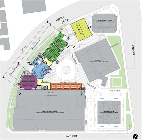 300 Square Feet Floor Plan by Campus Improvement Otis College Of Art And Design
