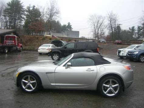 old car repair manuals 2007 saturn sky seat position control purchase used 2007 saturn sky red line convertible 2 door 2 0l in plaistow new hshire