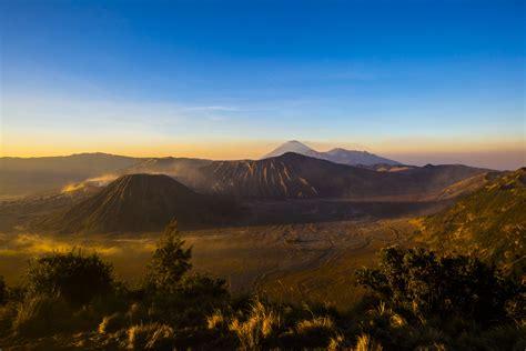 Nature Indonesia indonesia java stratovolcano mount bromo bromo