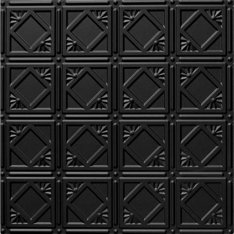 Black Ceiling Tiles Global Specialty Products Dimensions Faux 2 Ft X 4 Ft