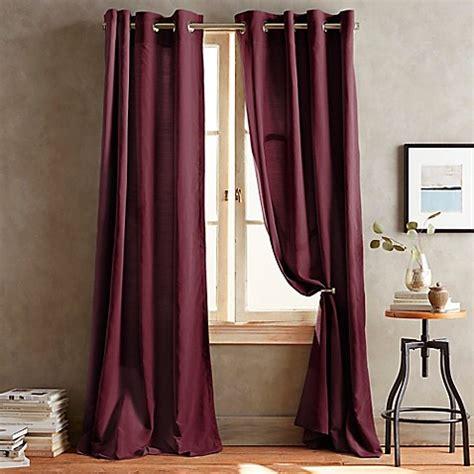 donna karan curtains dkny duet grommet window curtain panels bed bath beyond