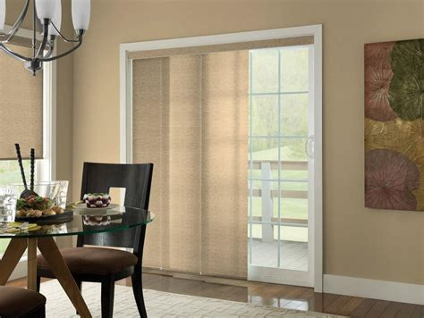 Sliding Panel Track Blinds Patio Doors Sliding Panel Blinds Are The Best Solution For All Kinds