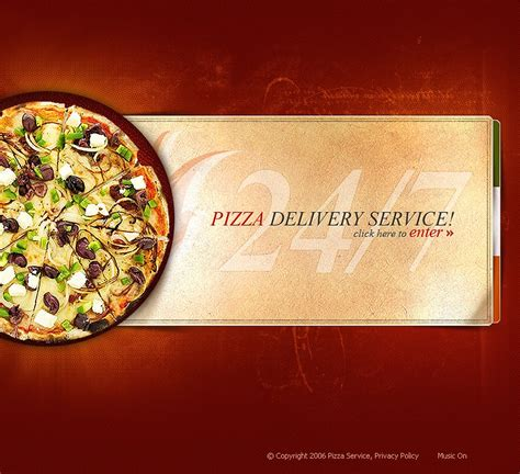 pizza flash template 11059
