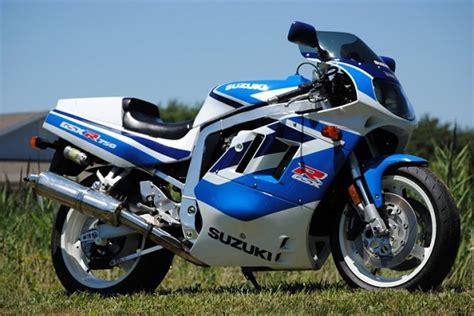 1991 suzuki gsx r 750 in exceptional original condition