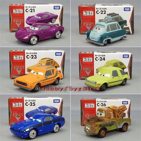Tomica Cars C 23 Tractor Disney Pixar Diecast Miniatur Takara Tomy Ori tomica disney pixar cars2 c 21 c 22 c 23 c 24 c 25 c 26 ebay