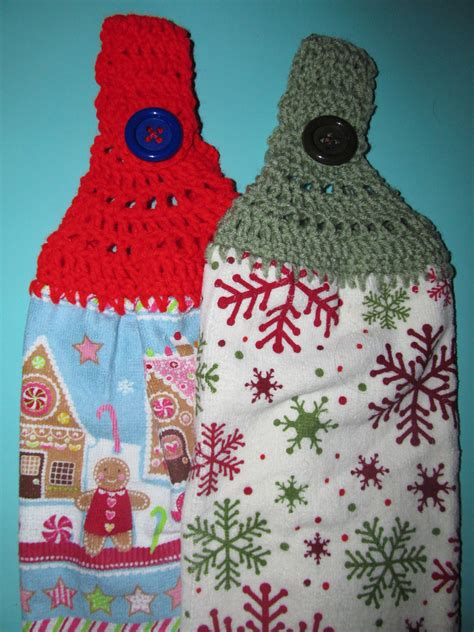 Crochet Kitchen Towel Topper by Simply Crochet And Other Crafts Towel Toppers