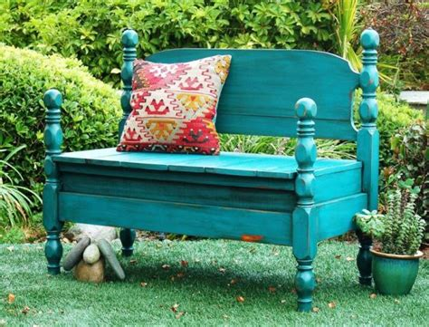 bench made from a bed 9 cool exles of repurposed and upcycled furniture