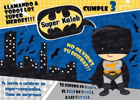 imagenes cumpleaños batman las 25 mejores ideas sobre invitaciones de batman en
