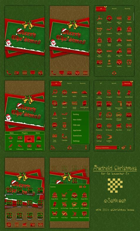 christmas themes for go launcher 1000 images about android go launcher themes on pinterest