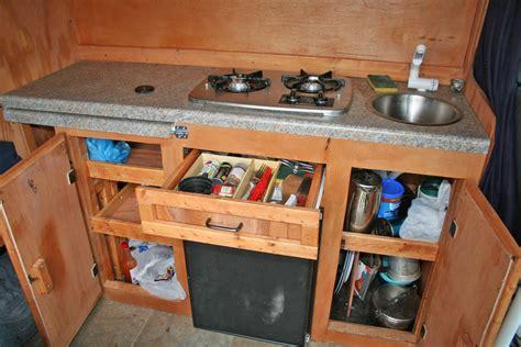 Plain And Fancy Kitchen Cabinets by Sprinter Rv Diy Sprinter Rv Conversion Gallery