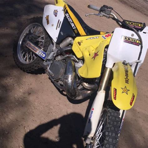 Suzuki 2 Stroke Bikes 2001 Rm 250 Suzuki 2 Stroke Dirt Bike For Sale In San