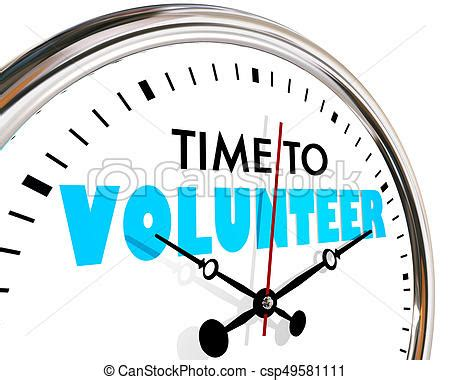 Time To Help by Time To Volunteer Help Non Profit Work Clock Ticking