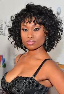 Short curly hairstyle black women yoohair cute short black curly hair
