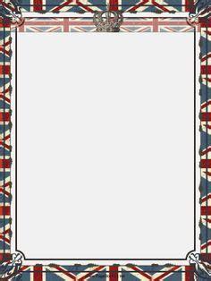 frame design london union flag border clipart 26
