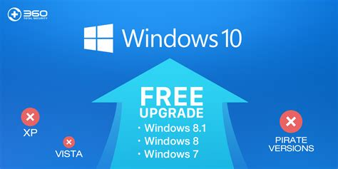 how to upgrade to windows how to upgrade to windows 10 for free 360 total