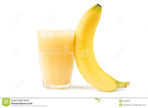 jus de banane images stock image 13399624