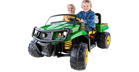 insane deal john deere gator power ride on 75 off
