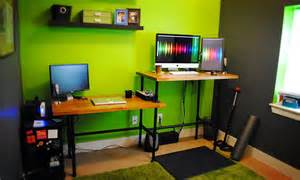 Ikea Diy Standing Desk Diy Adjustable Standing Desk From Steel Pipe Ikea Countertop