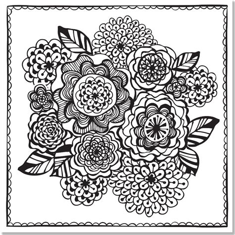 stress relief coloring pages easy joyful designs artist s coloring book 31 stress relieving