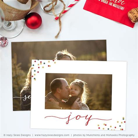 Digital Card Templates For Photographers by Card Template Season S Greetings