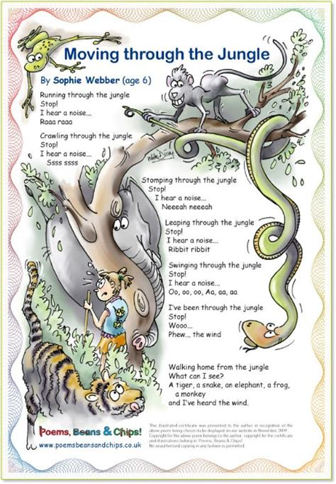 re created a poetic walk through the gospel of books jungle poem 169 mike dicey a children s poem explaining