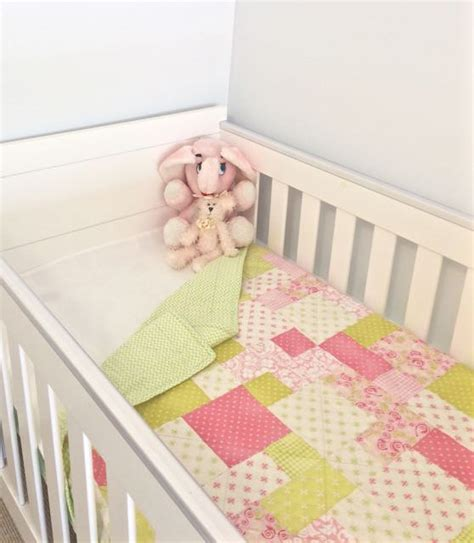 Patchwork Cot Bedding - baby patchwork cot quilt bedding baby bedding