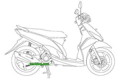tmcblog 187 beberapa gambar sketsa blueprint next yamaha mio j