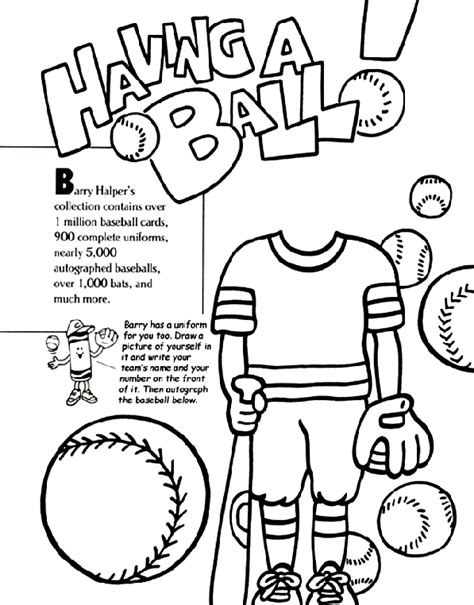 printable baseball activity sheets baseball collection coloring page crayola com