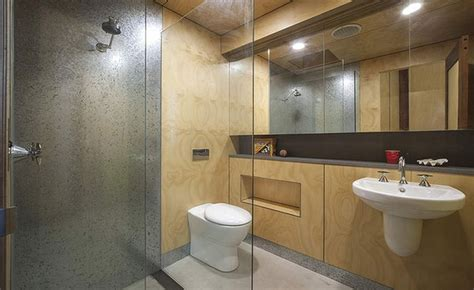 plywood for bathroom plywood never looked so good 27 stunning plywood interiors