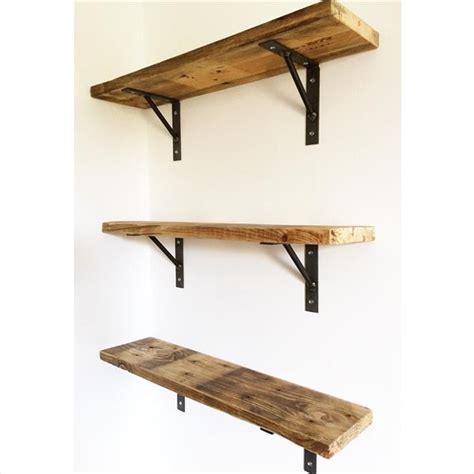 Diy Reclaimed Pallet Wall Shelves Pallet Furniture Plans Reclaimed Wood Shelving
