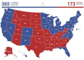 maps of the 2008 us presidential election political maps