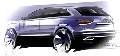 Audi 7 Seater Suv by Audi Q7 Second Generation 7 Seater Suv Debuts Paul