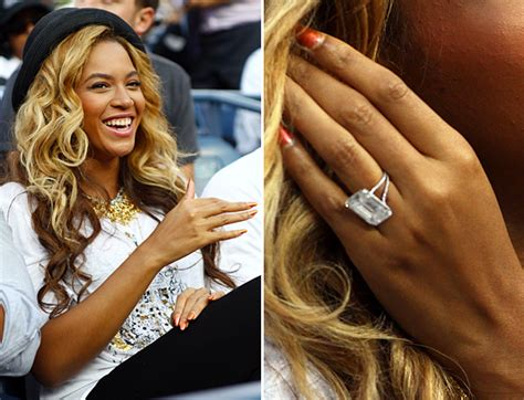 beyonce wedding ring photo engagement rings you didn t you could buy