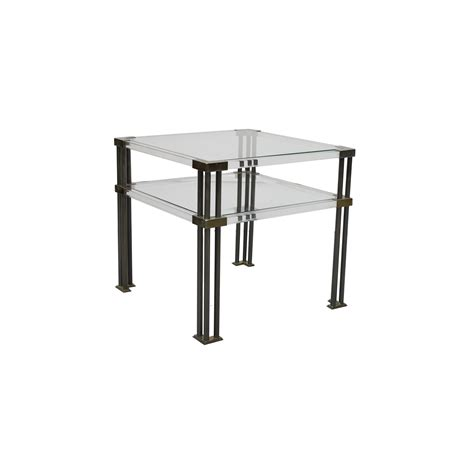 Perspex Side Table Vintage Perspex Side Tables Les Trois Gar 231 Ons