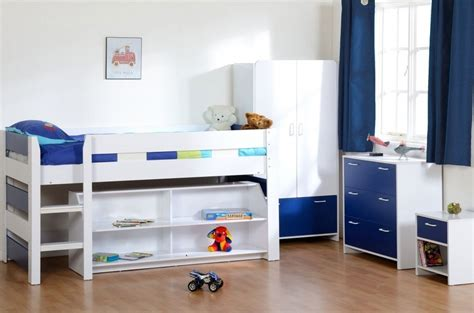 Small Mid Sleeper Bed by Beautiful Small Cabin Beds Midsleeper Set Wardrobe Chest
