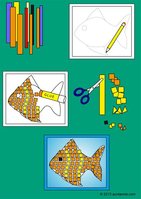 How To Make A Mosaic L by How To Make Paper Mosaics Friday S Crafts
