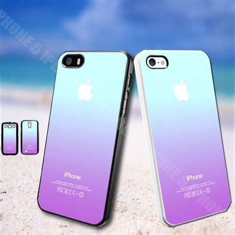 Iphone 5 Cyan Blue ombre blue teal purple iphone 5 iphone 5s by udinuscase 8 99 iphone cases i want