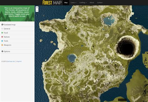 the forest map steam community guide interactive the forest map