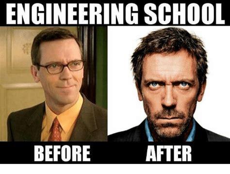 Engineering School Meme - engineering school after before school meme on sizzle