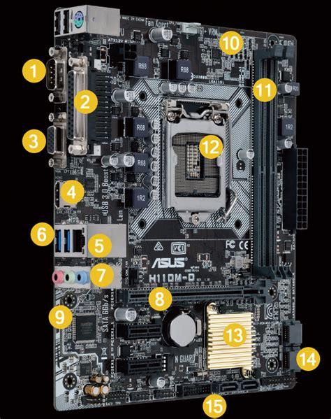 H110m D D4 h110m d motherboards asus usa