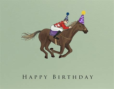 printable horse happy birthday cards pin by tamso doyle on horse racing pinterest