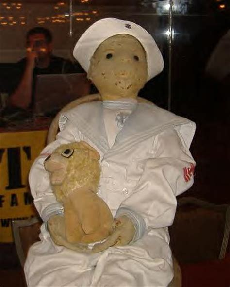 haunted doll painting paranormal trip