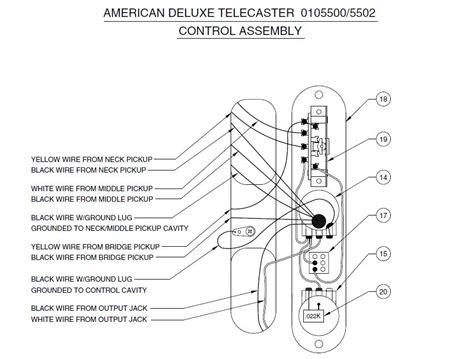 nashville tele wiring diagram telecaster guitar forum