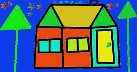 making a house alex c glenbrae school my digital art house