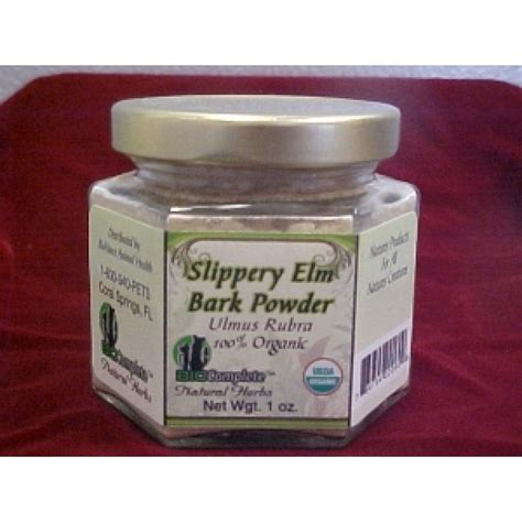 slippery elm for dogs biocomplete organic slippery elm bark powder quality fresh foods for dogs