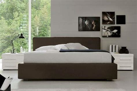 italian platform bed made in italy leather luxury platform bed with extra
