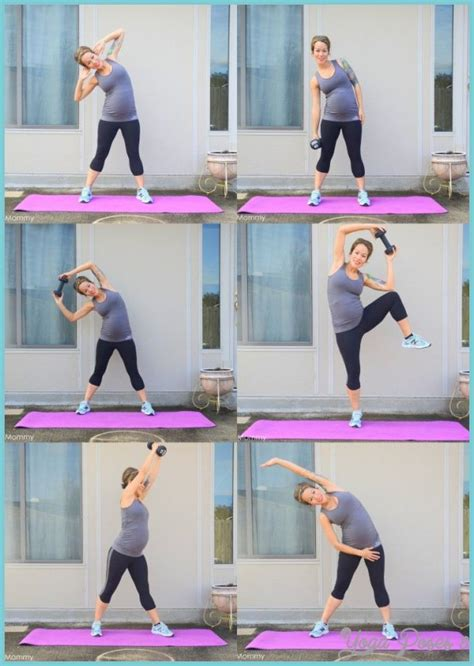 ab exercises during pregnancy trimester yogaposes8