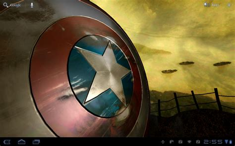 Captain America Live Wallpaper | android wallpaper review captain america live wallpaper