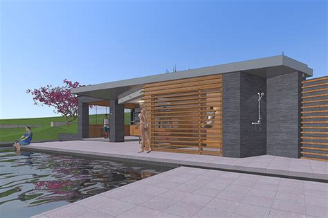 poolhaus bauen poolhaus ac plan
